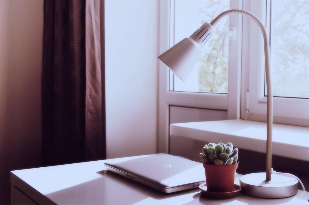 Computer Desk by Tatiana Lapina