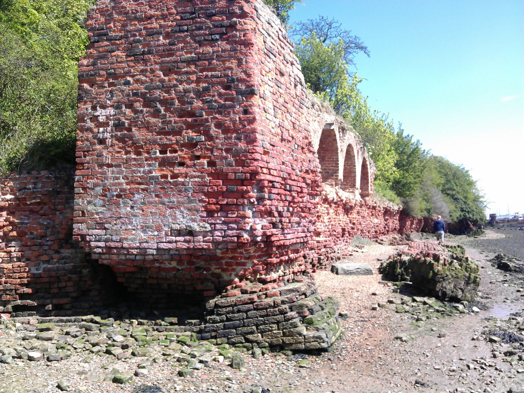 Cockham Wood Fort, Nr Hoo and Upnor on the River Medway