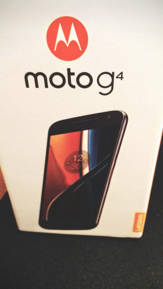 Motorola Moto G4 Box