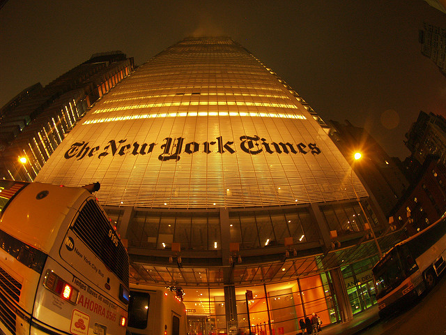 New York Times Building by Torrenegra on Flickr